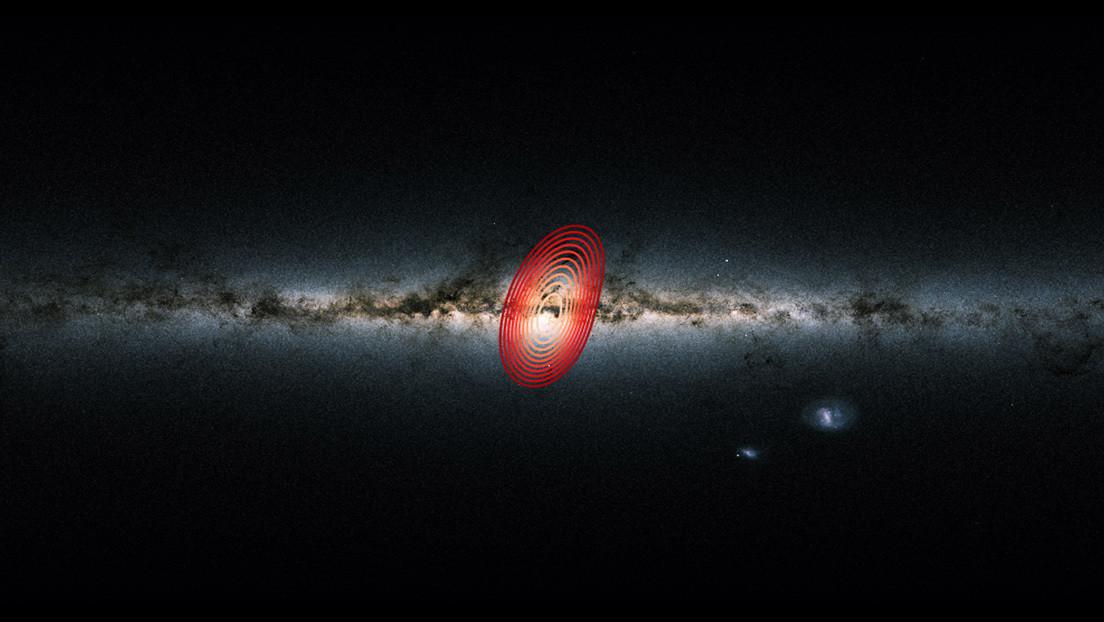 Estrellas de la Vía Láctea vista desde la Tierra