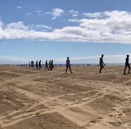 Inmigrantes en Playa del Inglés/ CanariasNoticias.es