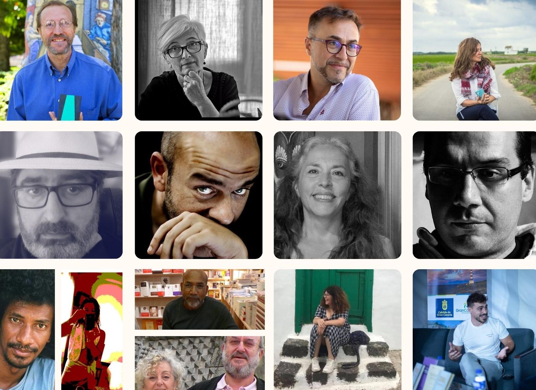 "Autores de ""La salamandra ebria"" / CanariasNoticias.es"