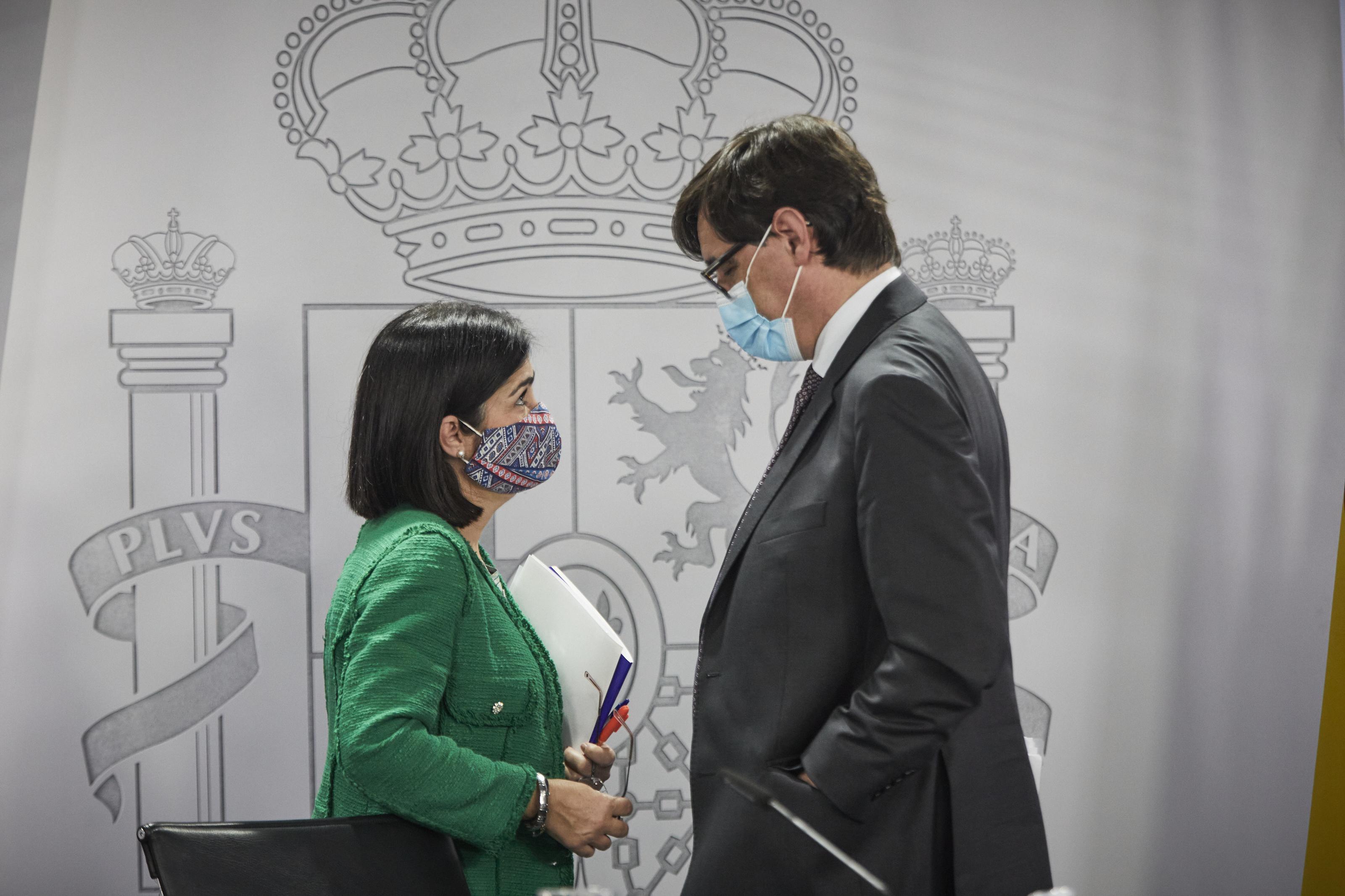 Carolina Darias y Salvador Illa/ CanariasNoticias.es