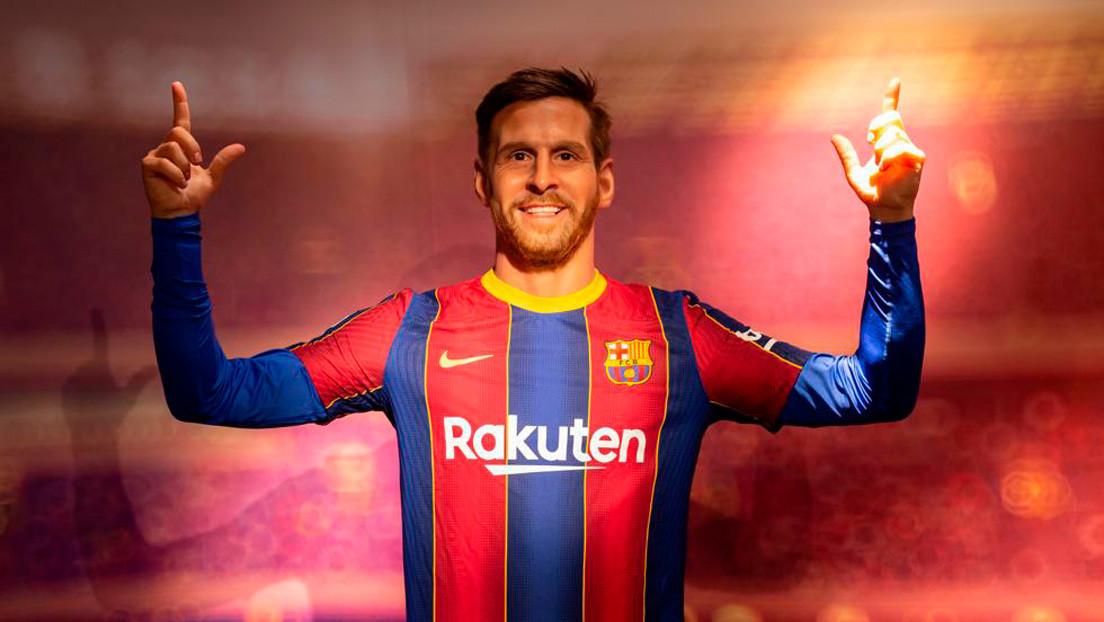 Estatua de cera de Messi en el Museo de Cera de Barcelona / CanariasNoticias.es
