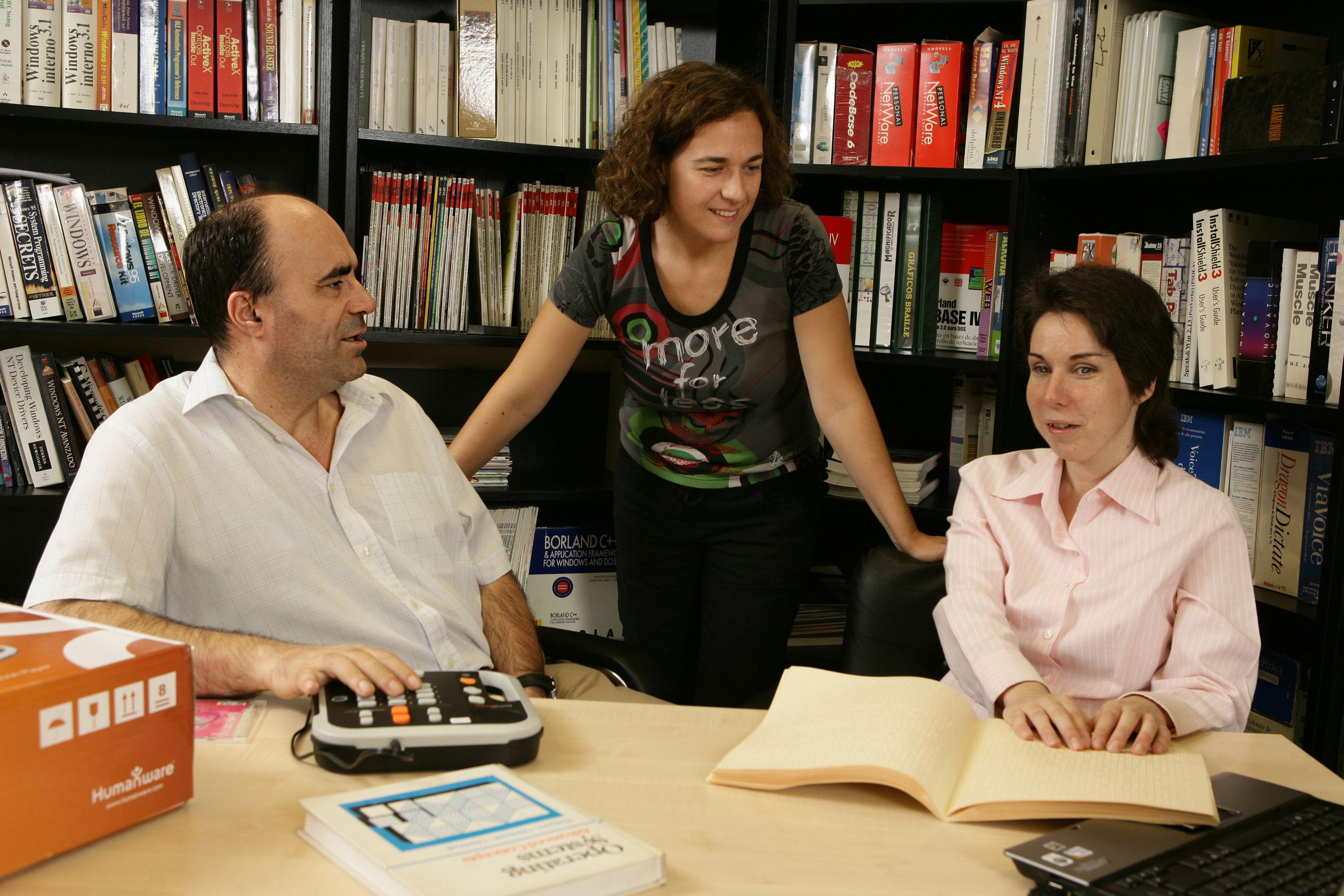 Lectura en braille / CanariasNoticias.es