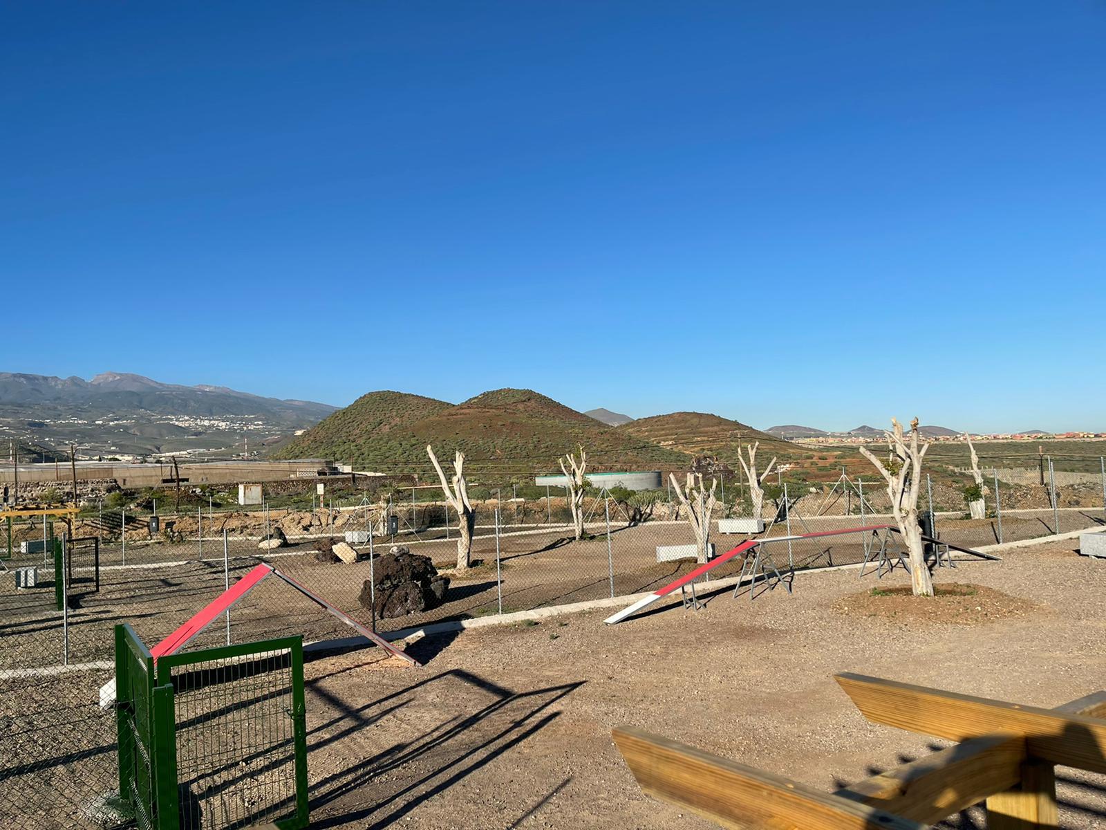 Parque canino. San Miguel de Abona/ canariasnoticias