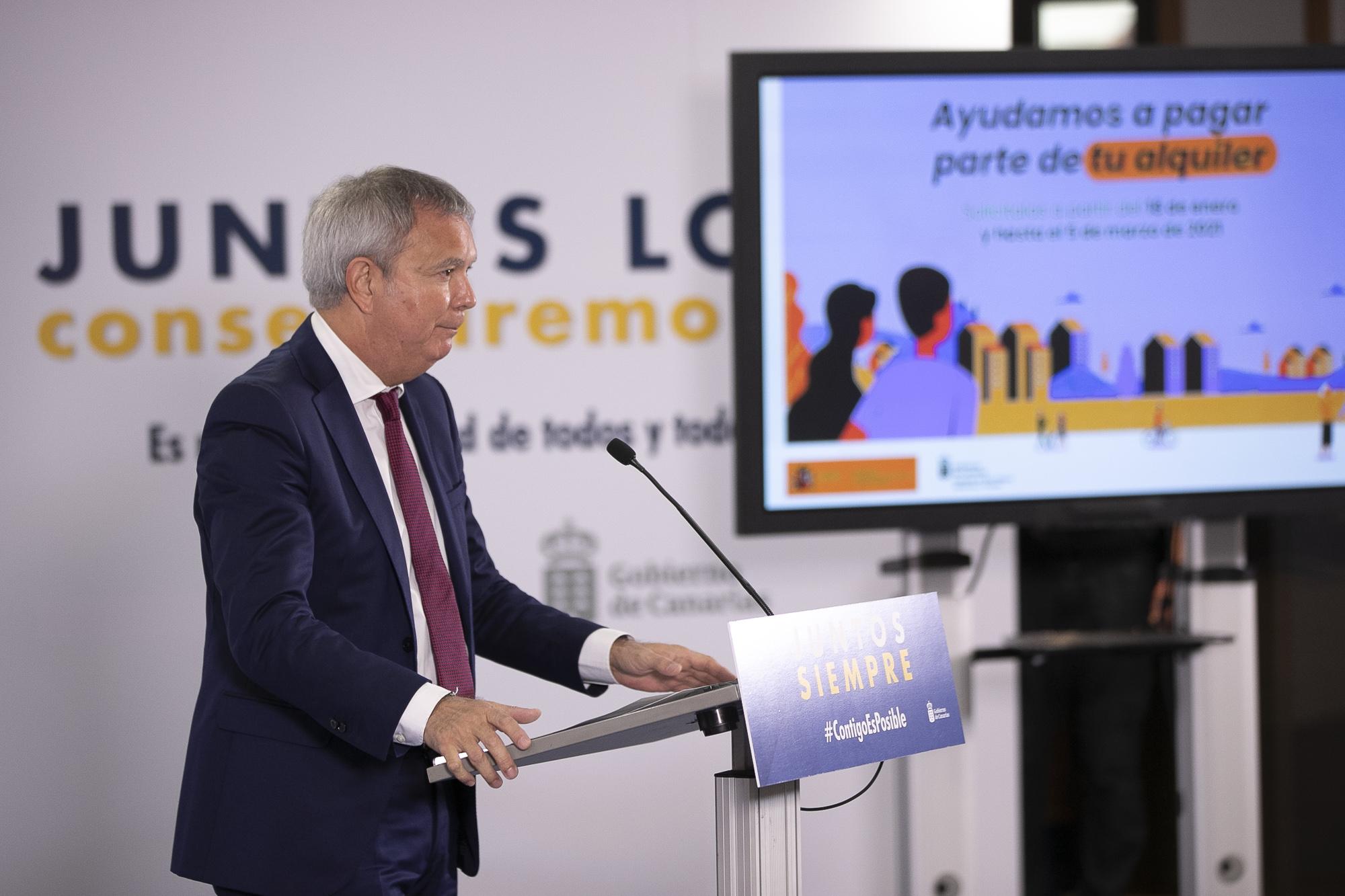 Sebastián Franquis, consejero de Obras Públicas, Transportes y Vivienda del Gobierno de Canarias / CanariasNoticias.es
