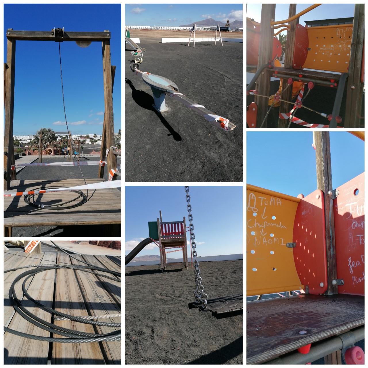Parques infantiles. Yaiza/ canariasnoticias.es