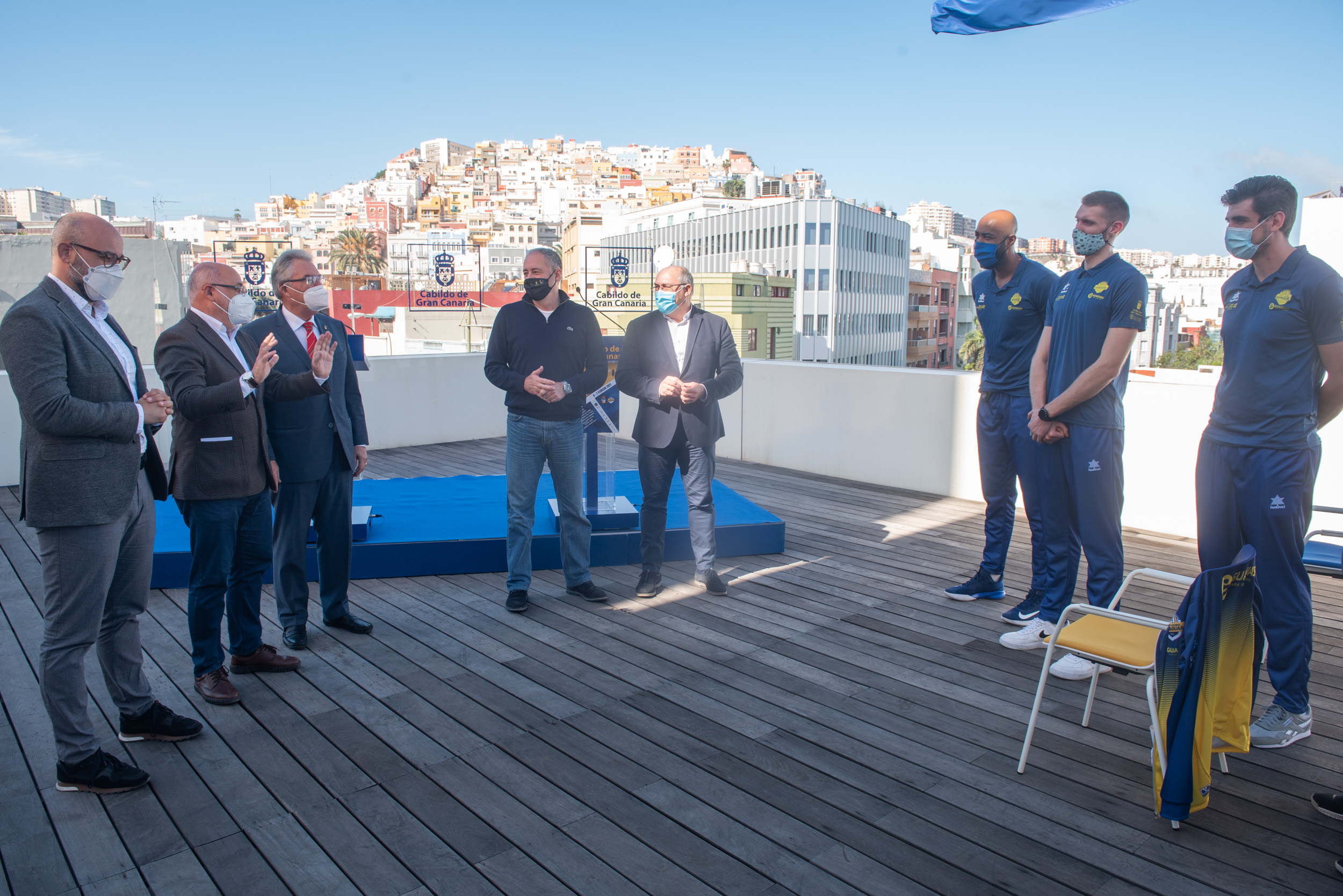 Presentación de la Copa del Rey de Voleibol en Gran Canaria / CanariasNoticias.es