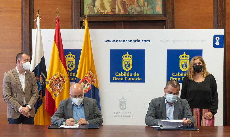 Firma del proyecto que convertirá Los Salesianos en residencia / CanariasNoticias.es
