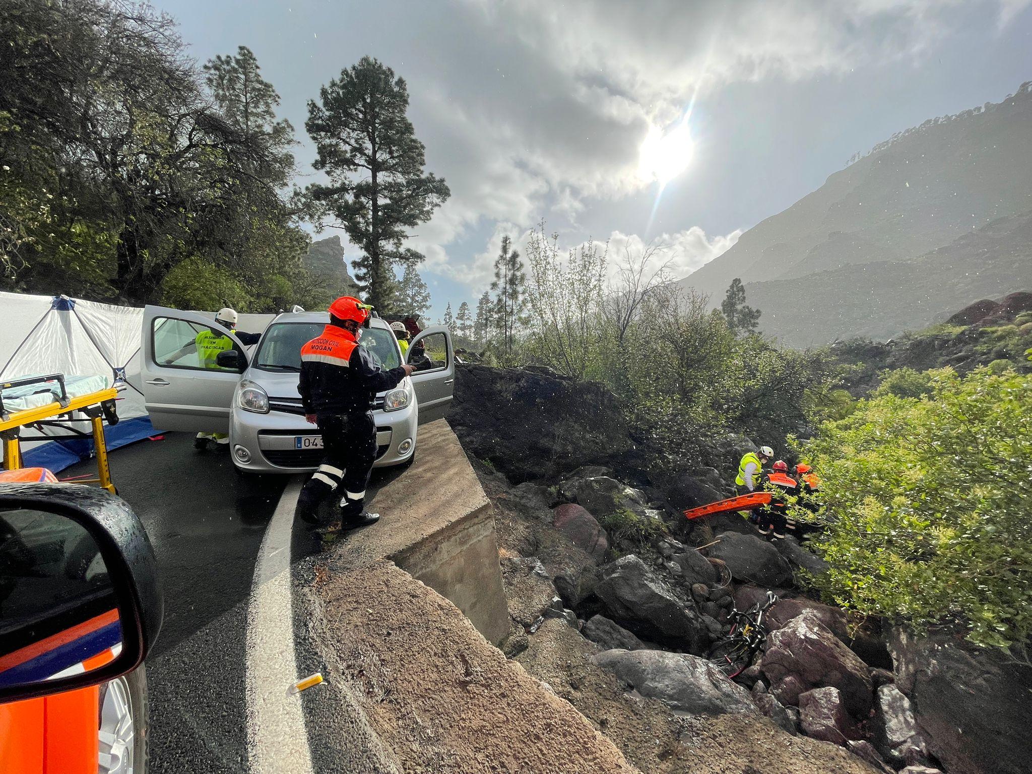Simulacro de accidente de tráfico / CanariasNoticias.es