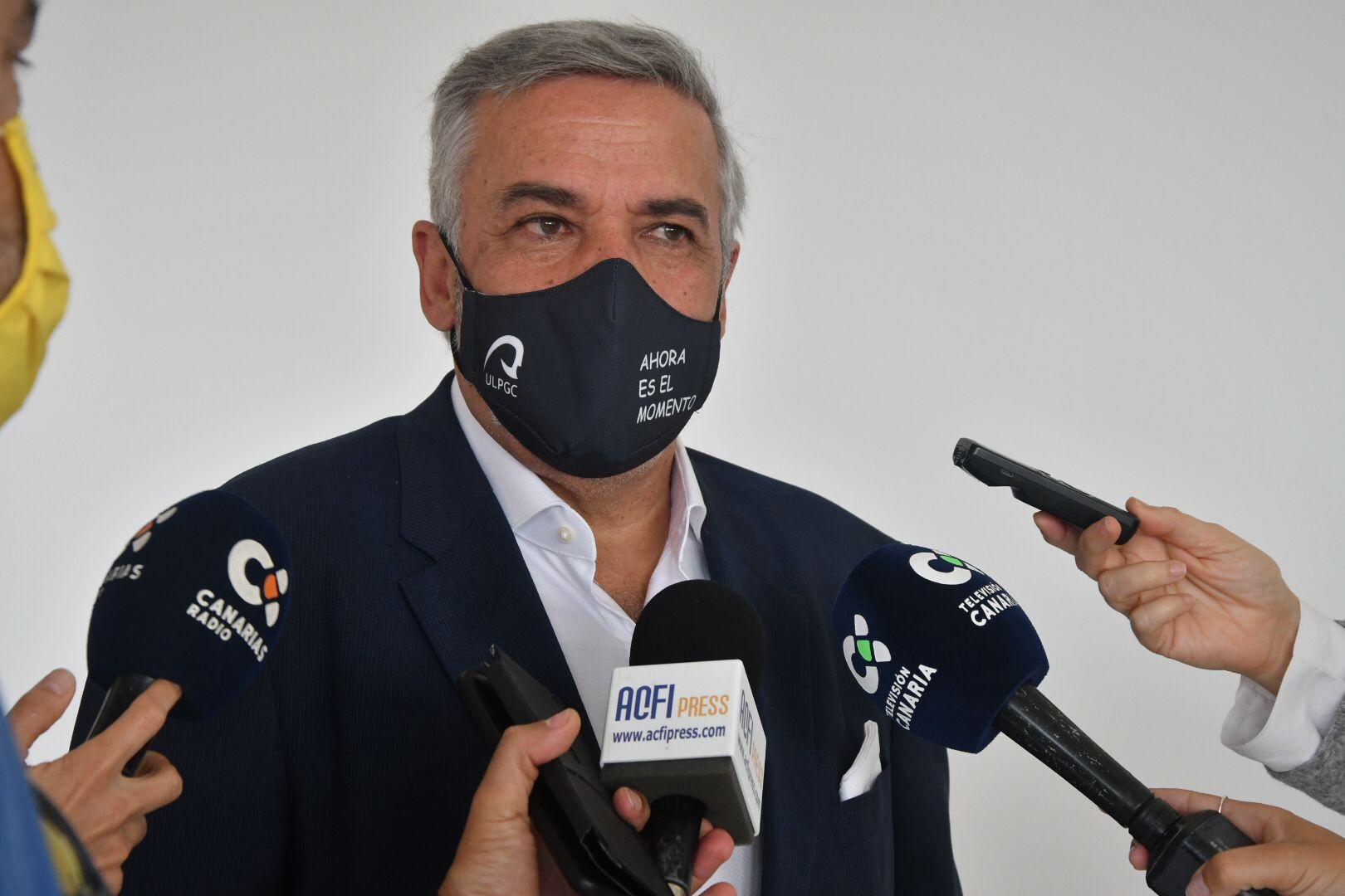 Lluis Serra, rector de la ULPGC / CanariasNoticias.es