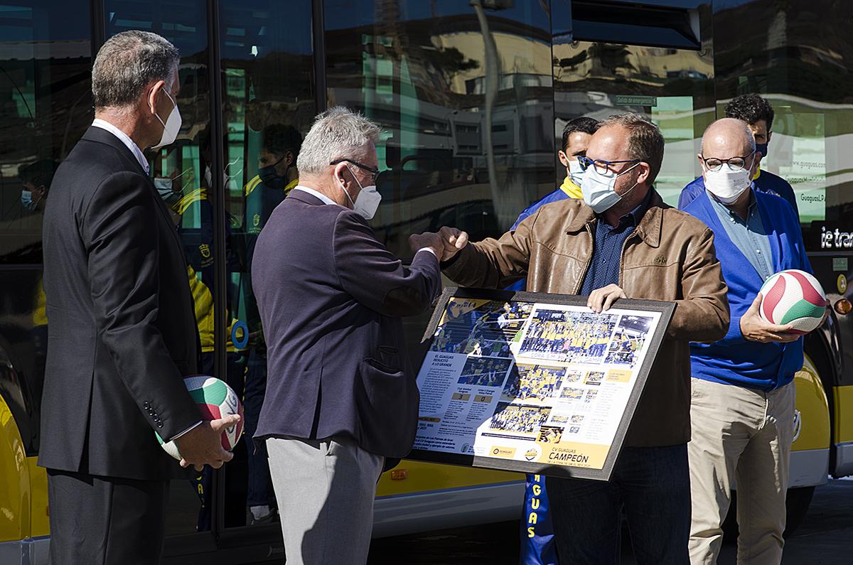 El Club Voleibol Guaguas visita Guaguas Municipales / CanariasNoticias.es