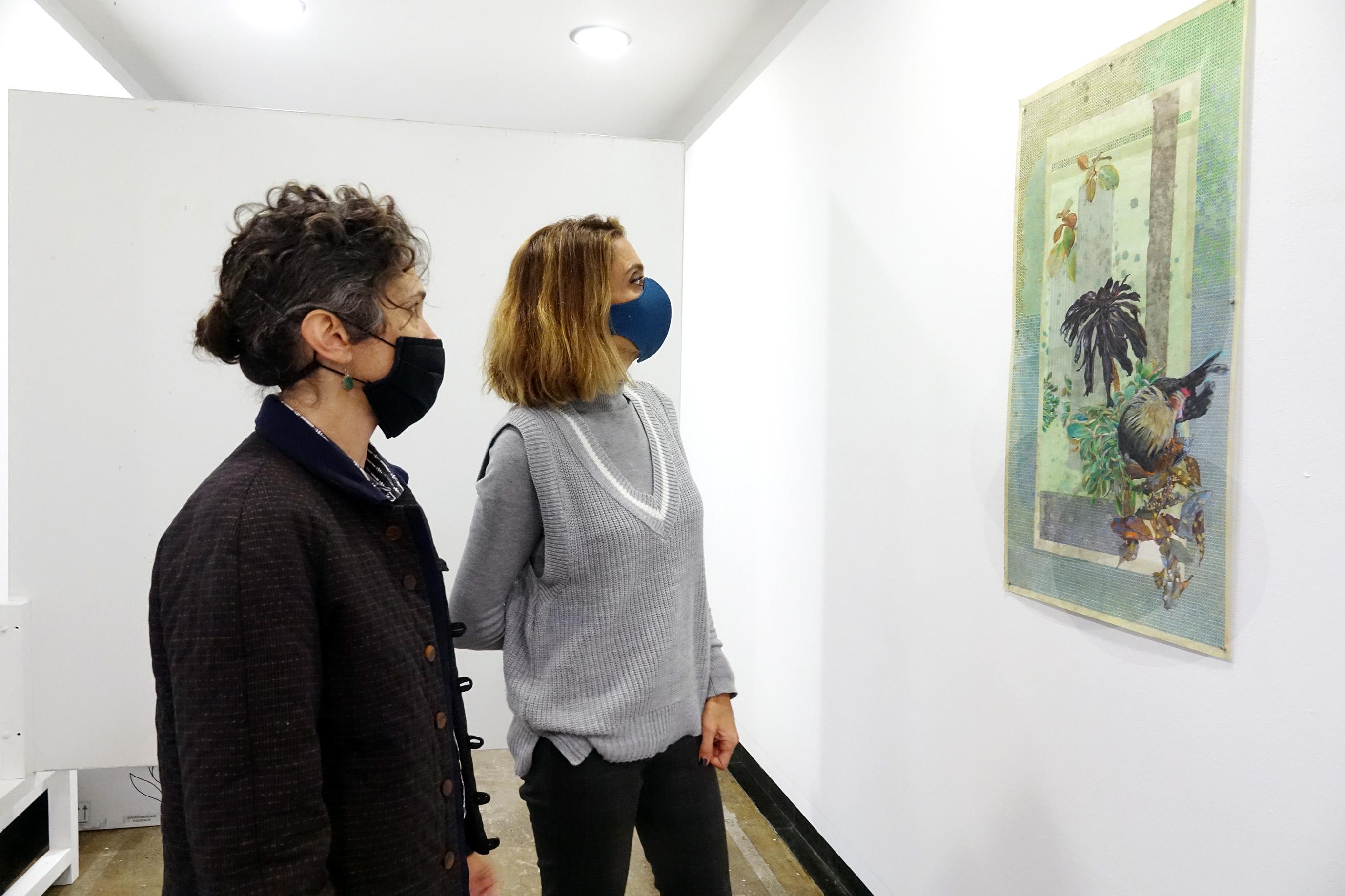 Exposición de Yara Burkhalter en La sala de arte del Parque García Sanabria / CanariasNoticias.es