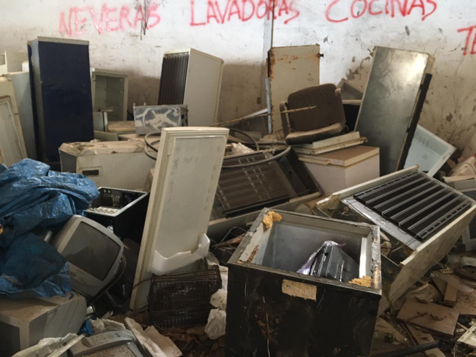 Nave industrial en el Lomo los Silos (Teror) / CanariasNoticias.es
