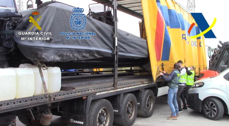 """""""Narcolanchas"""" aprehendidas por la policía / CanariasNoticias.es"""
