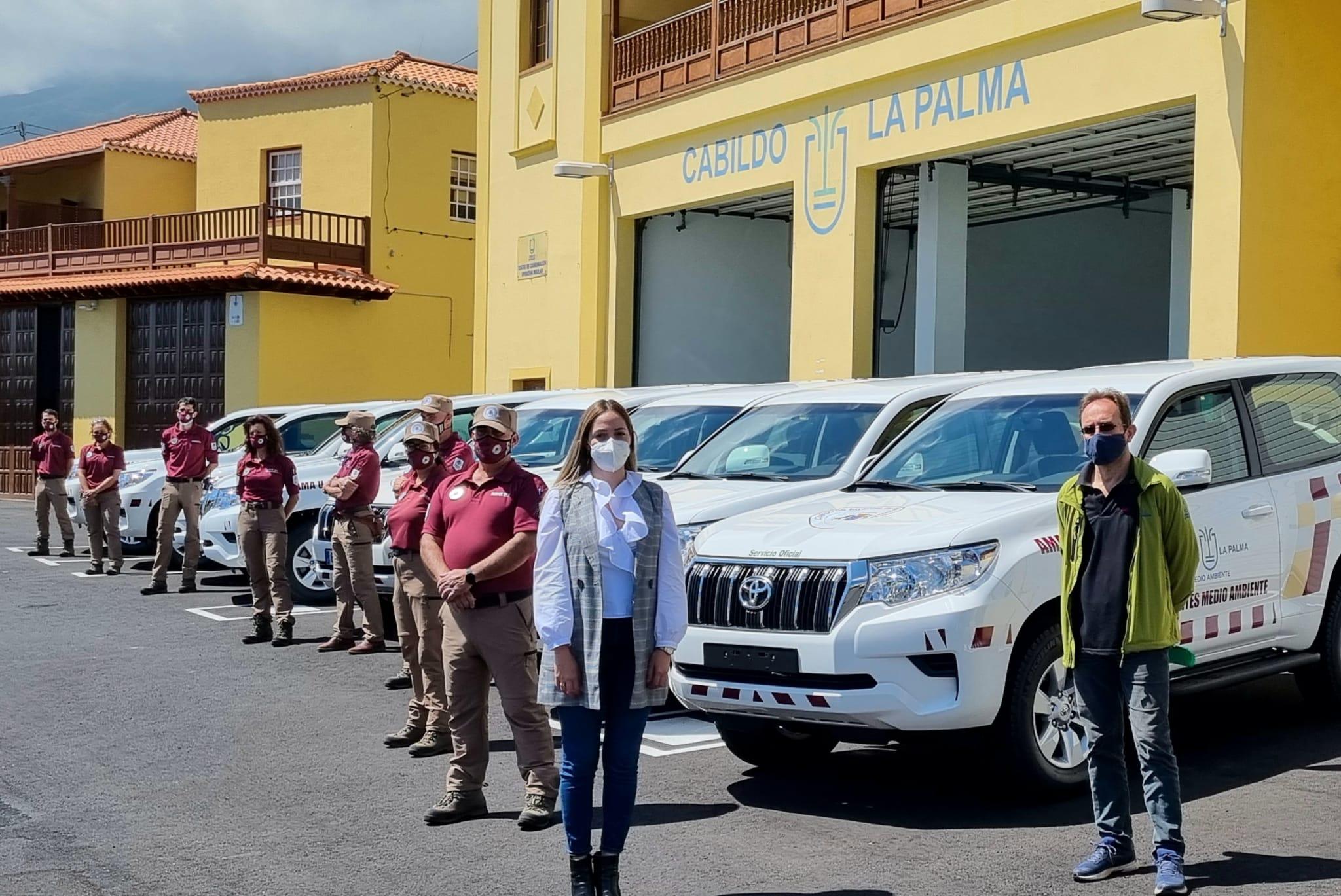 Nuevos vehículos para Medio Ambiente La Palma / CanariasNoticias.es