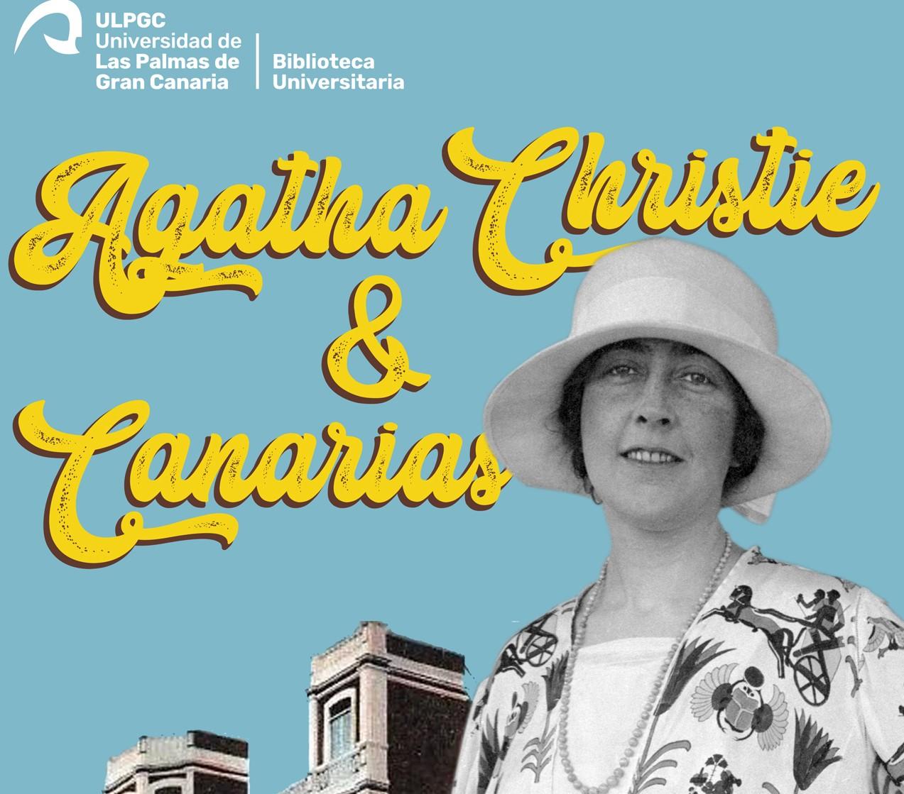"""Exposición y charla """"Agatha Christie & Canarias"""""""