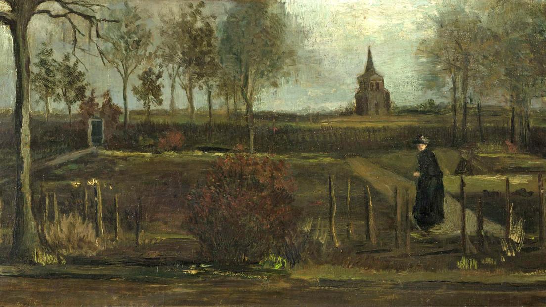 El cuadro 'Spring Garden' (1884) del pintor Vincent Van Gogh