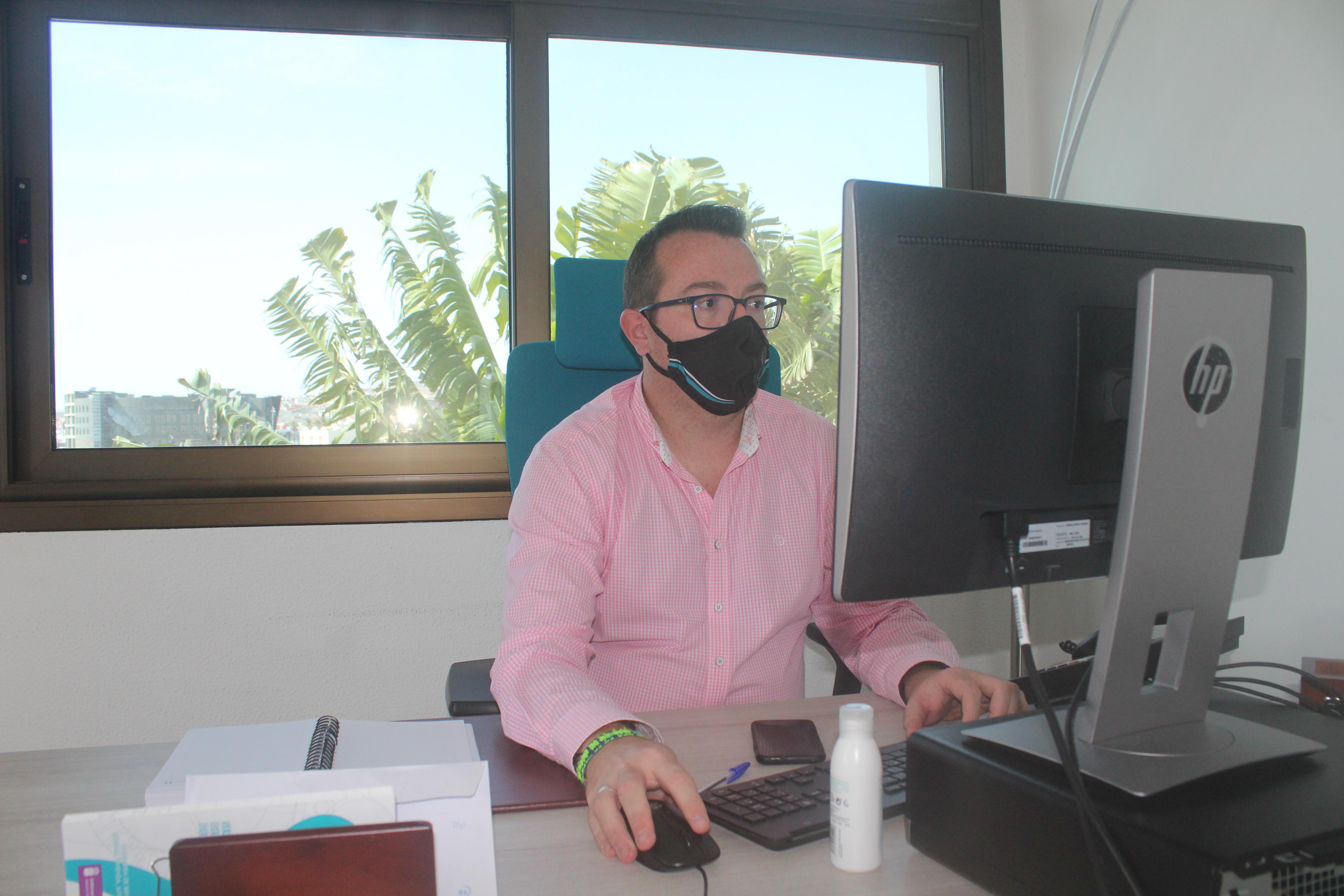 Adargoma Hernández, consejero de Políticas Sociales del Cabildo de Fuerteventura / CanariasNoticias.es