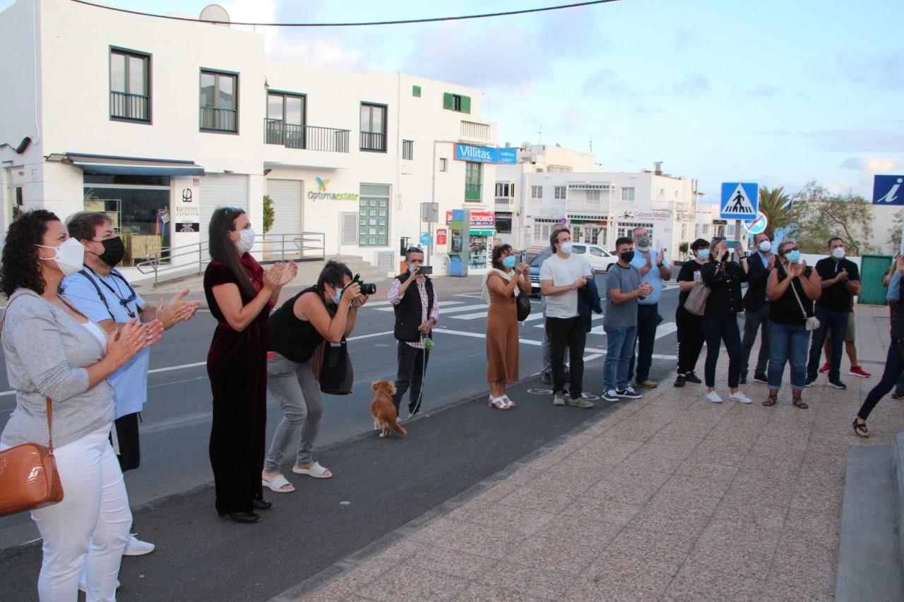 Playa Blanca rinde homenaje póstumo al gestor cultural Javier Caídas/ canariasnoticias
