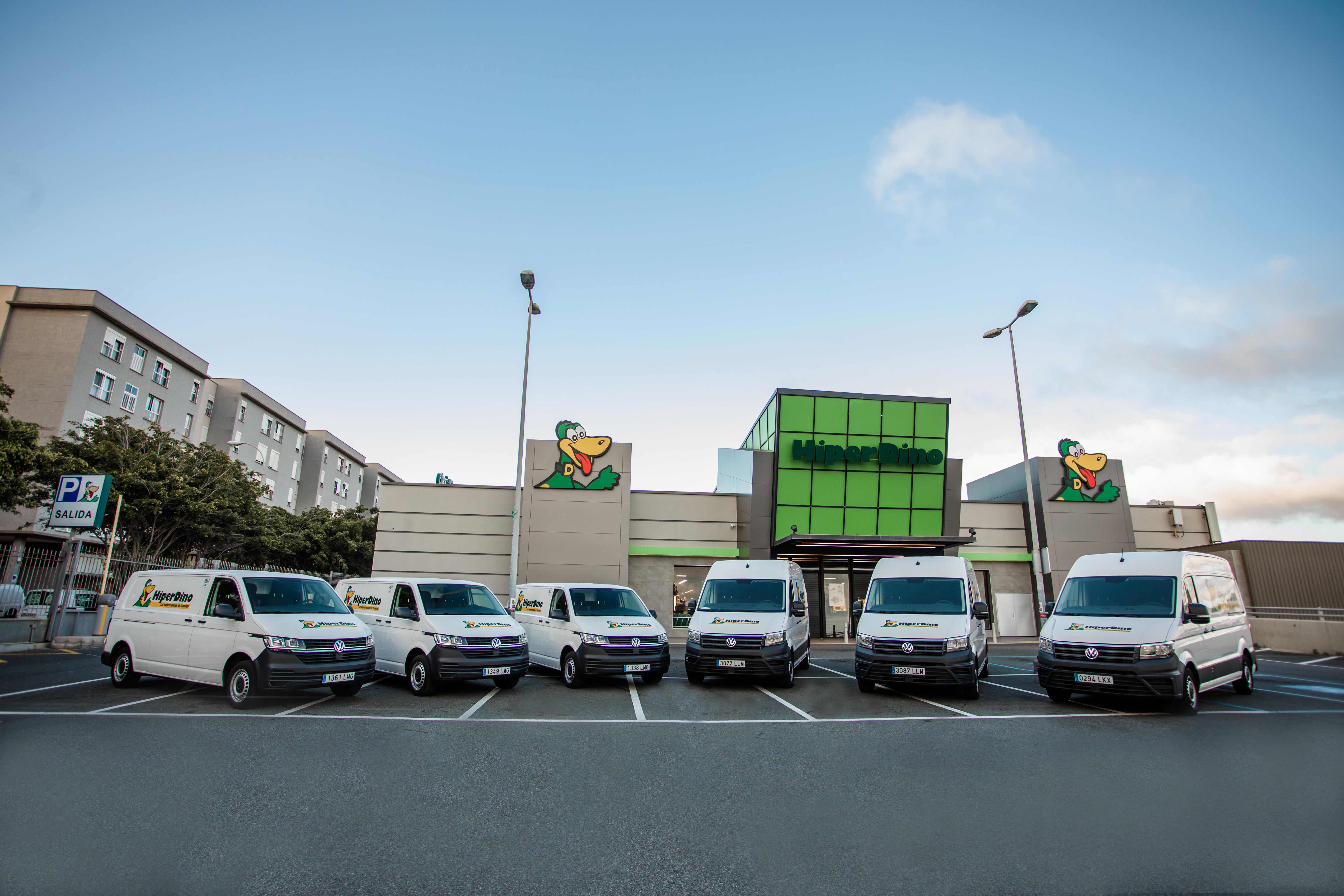 Volkswagen Comerciales entrega una flota de 36 vehículos a HiperDino