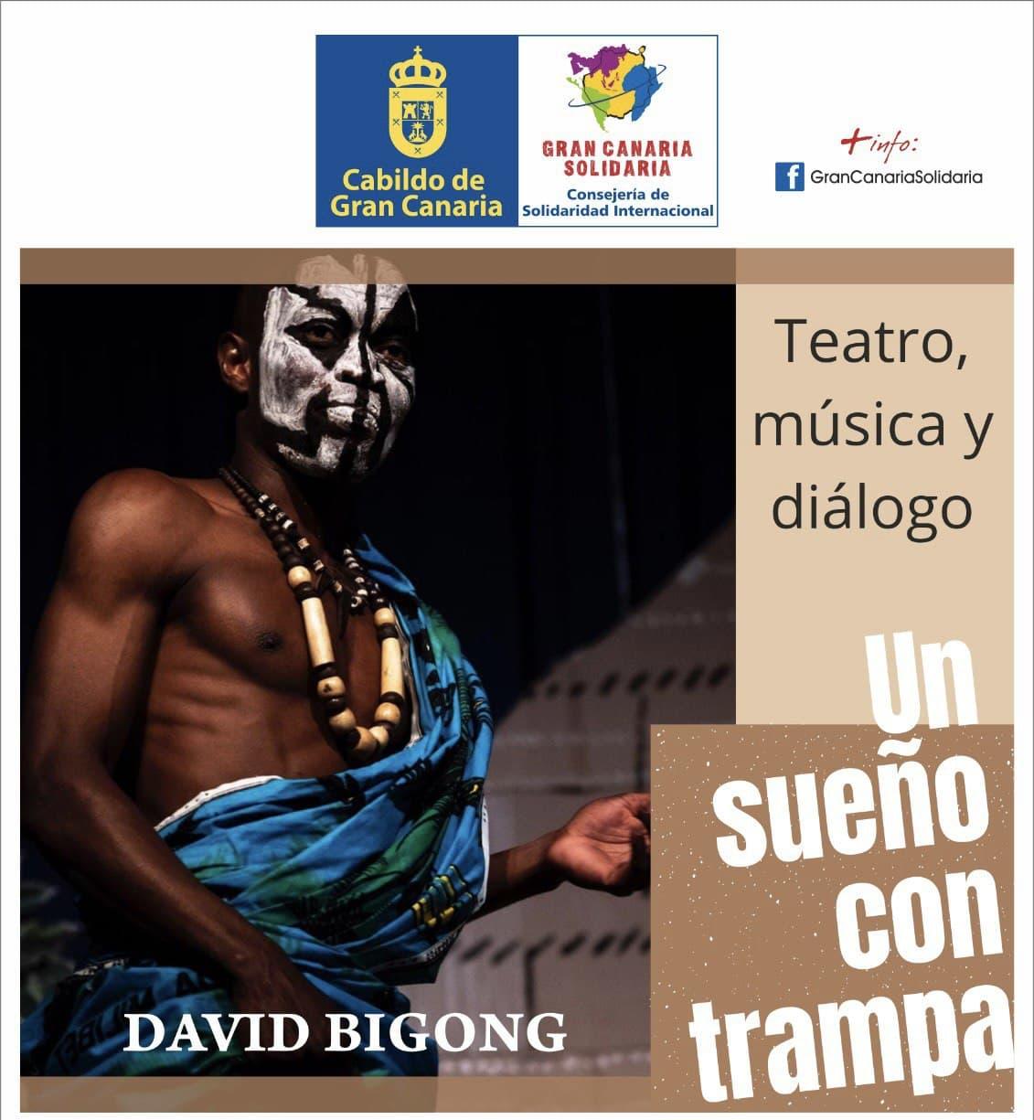 """David Bingong narra su """"Sueño con trampa"""" / CanariasNoticias.es"""