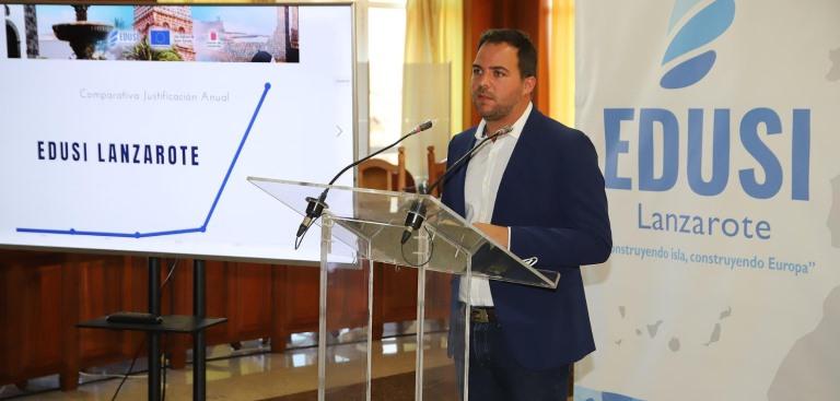 Jacobo Medina, vicepresidente del Cabildo de Lanzarote / CanariasNoticias.es