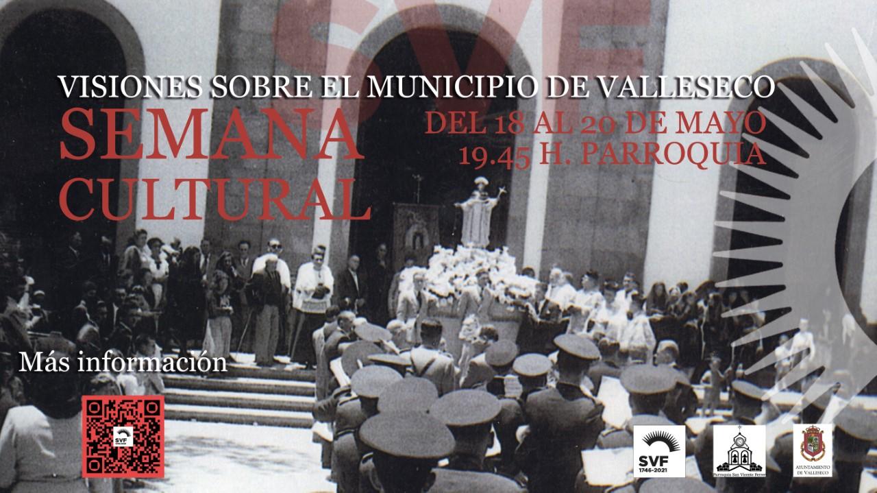 Cartel Semana Cultural. Valleseco/ canariasnoticias
