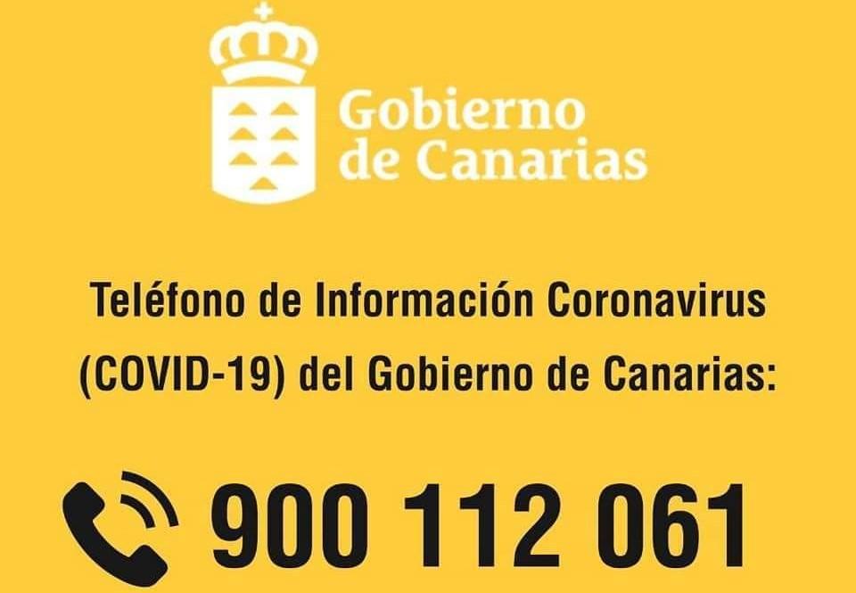 Teléfono Covid-19 en Canarias / CanariasNoticias.es
