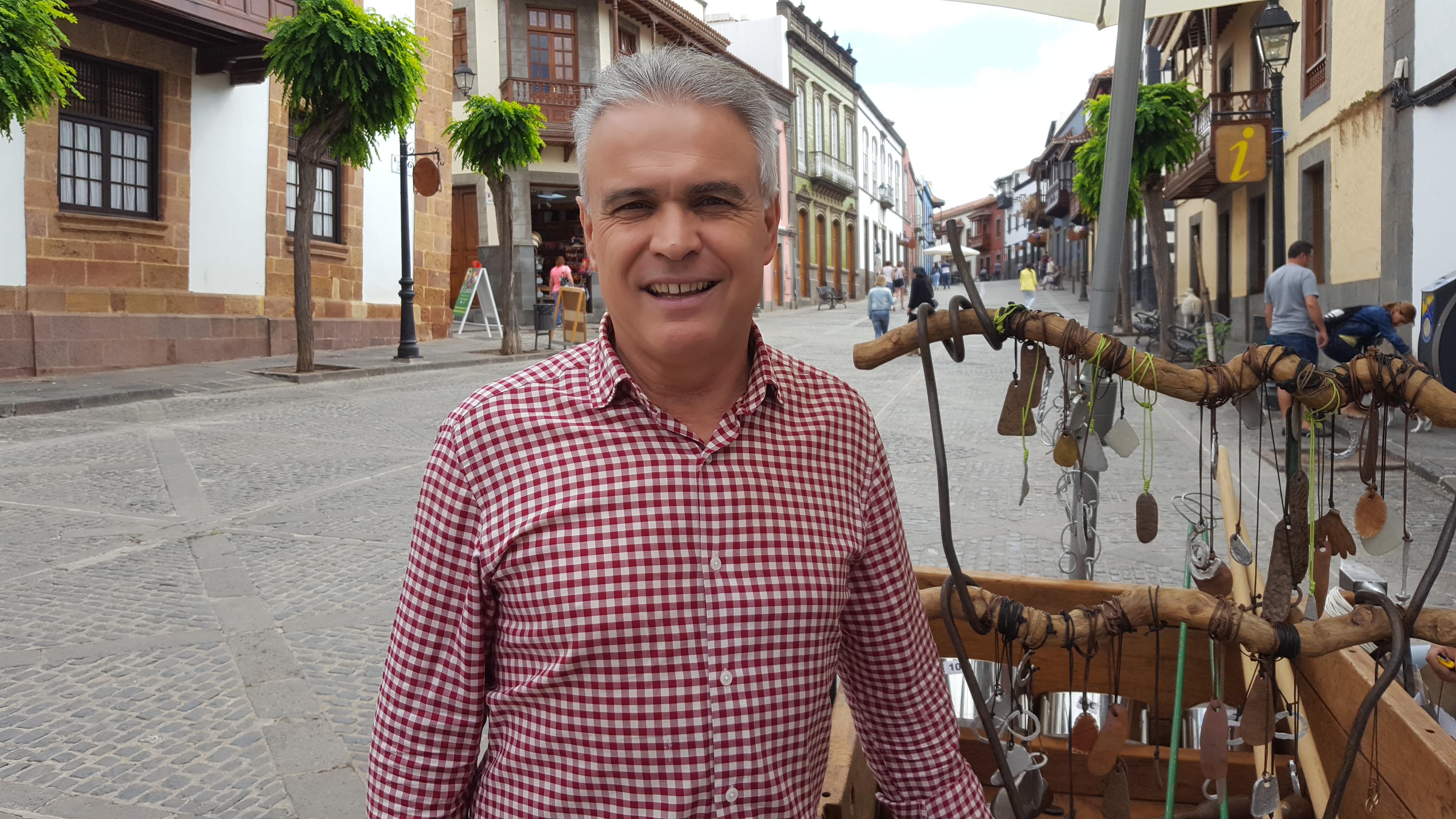 Gonzalo Rosario, alcalde de Teror / CanariasNoticias.es