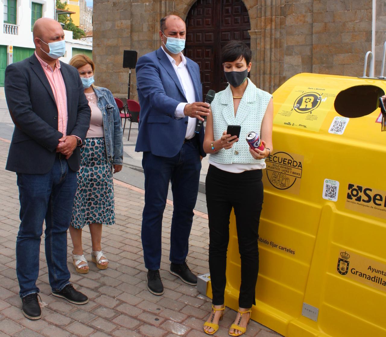 Granadilla de Abona, primer municipio canario que apuesta por el reciclaje con incentivos para la población / CanariasNoticias.es