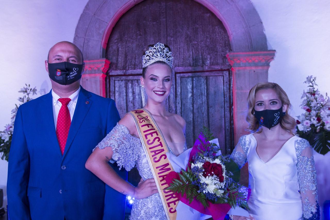 Idaira Candelaria Toledo Gutiérrez. Reina de Las Fiestas. Granadilla de Abona/ canariasnoticias