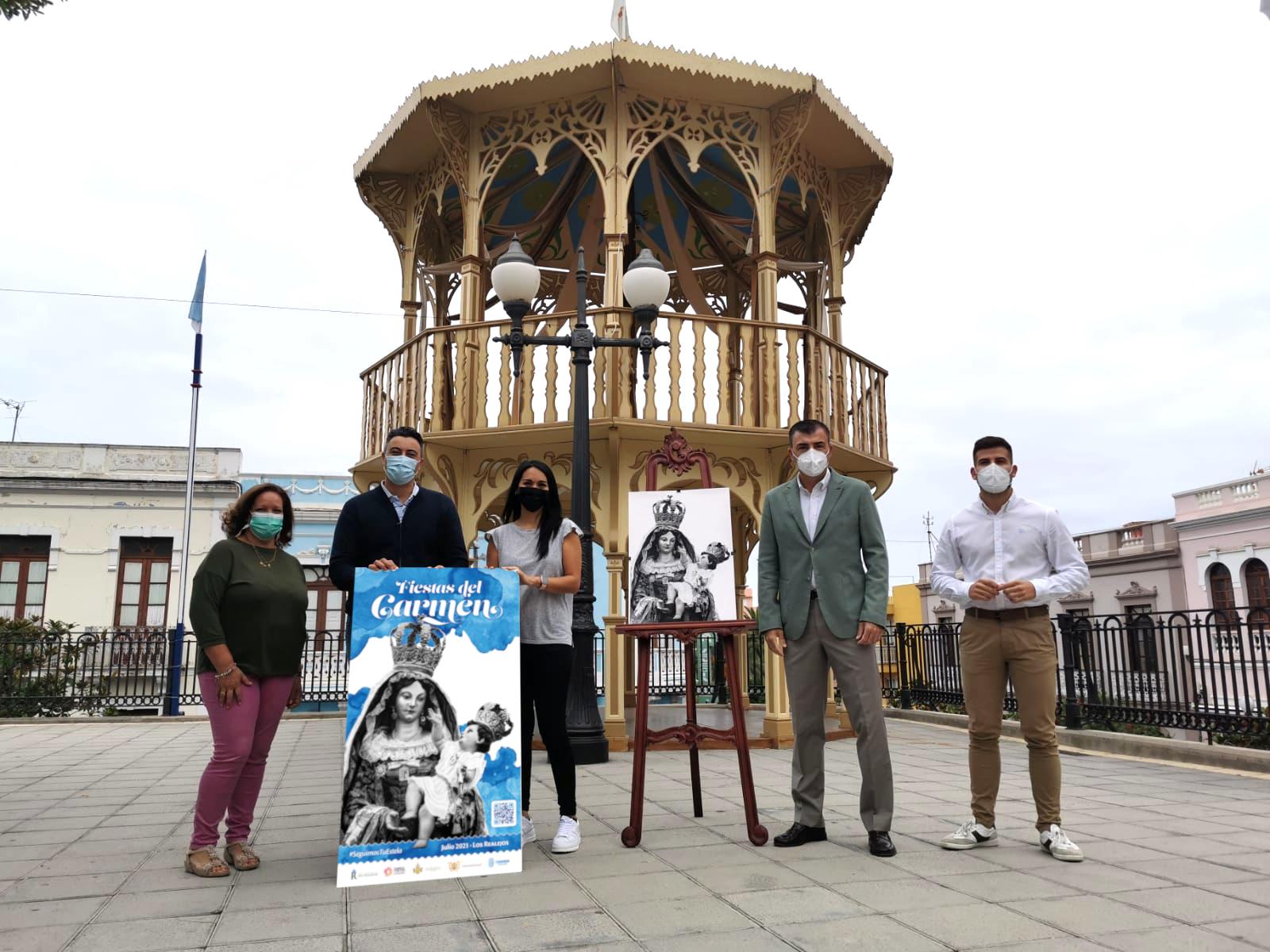 Presentación del cartel de las fiestas del Carmen en Los Realejos / CanariasNoticias.es