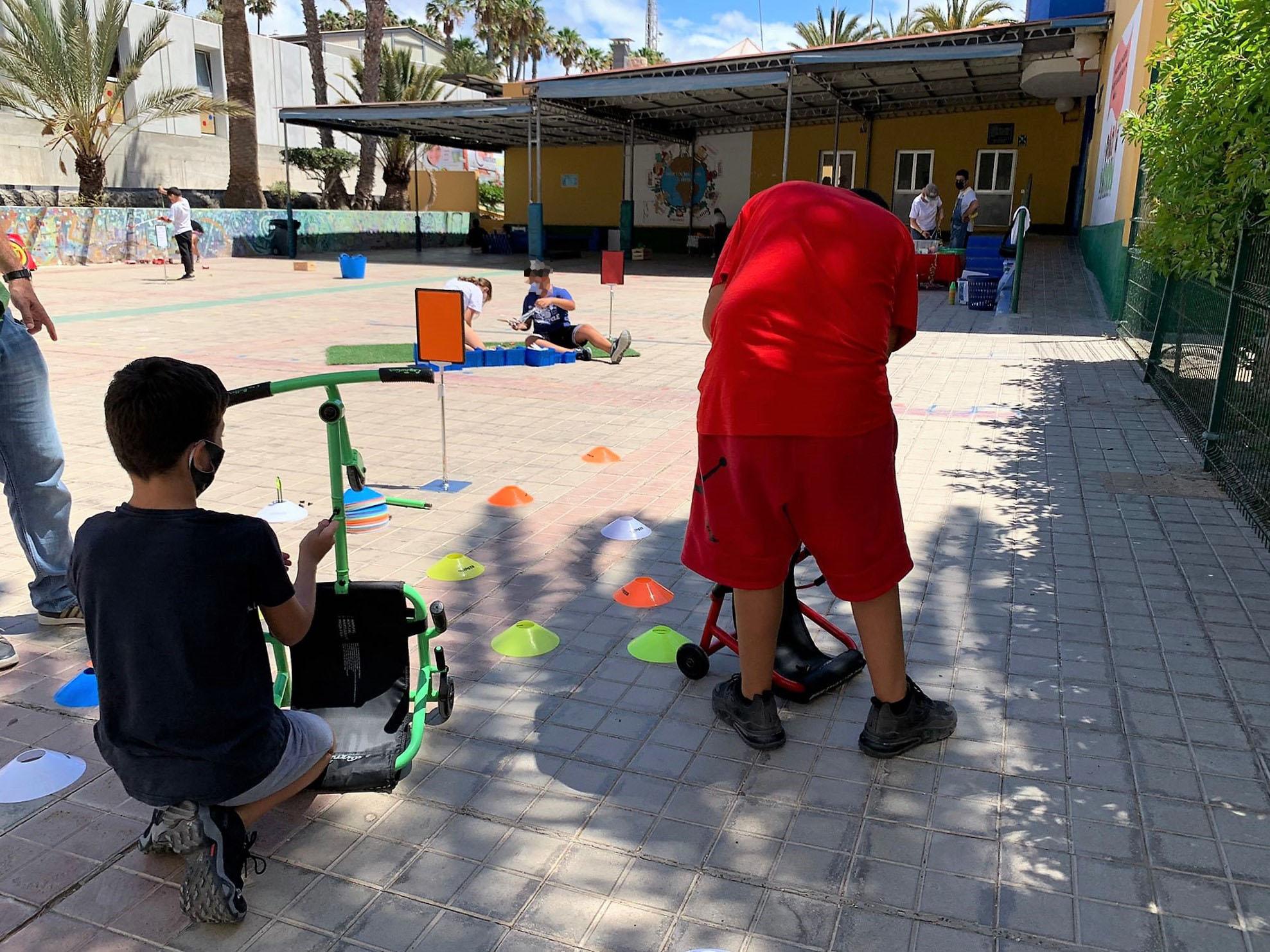 """""""Yincana por la Igualdad"""" en los colegios de Mogán (Gran Canaria) / CanariasNoticias.es"""