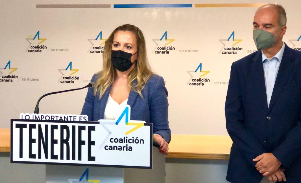 Rosa Dávila y José Alberto Díaz-Estébanez/ canariasnoticias