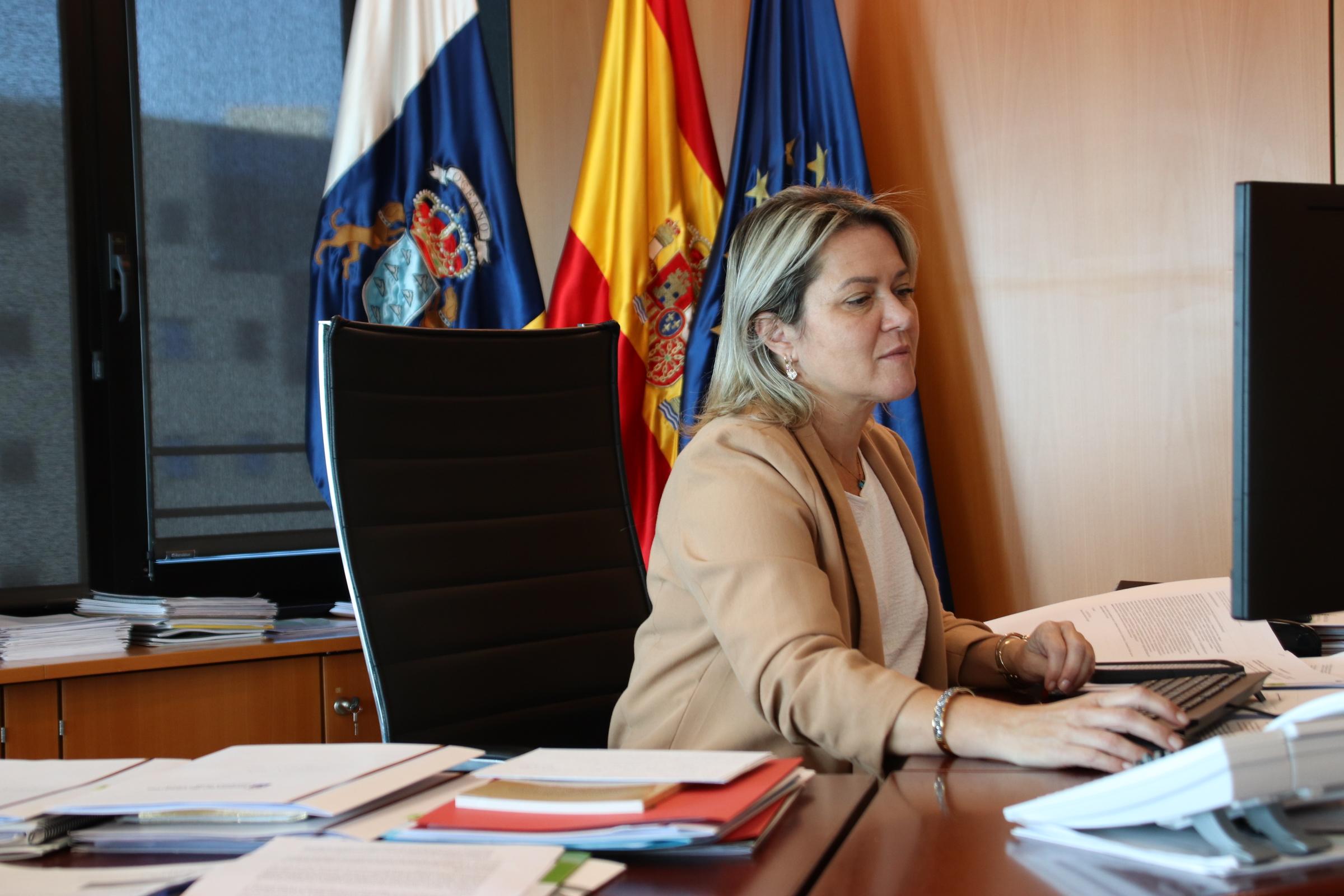 Alicia Vanoostende en la Conferencia Sectorial de Pesca / CanariasNoticias.es