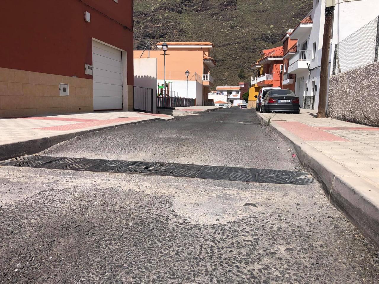 Carretera a Los Cascajos. Santiago del Teide/ canariasnoticias