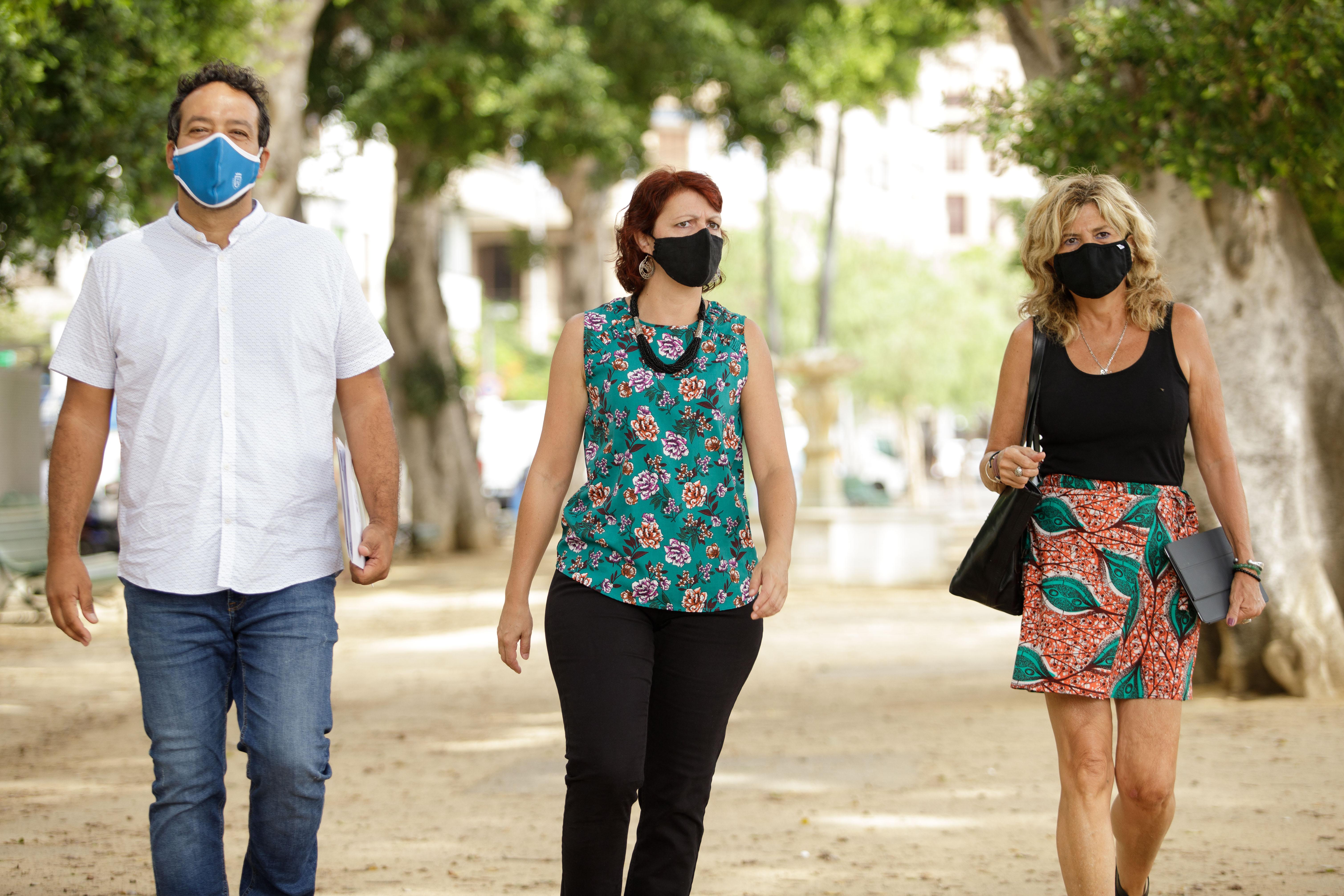 Grupo insular Sí Podemos Canarias en el Cabildo de Tenerife / CanariasNoticias.es