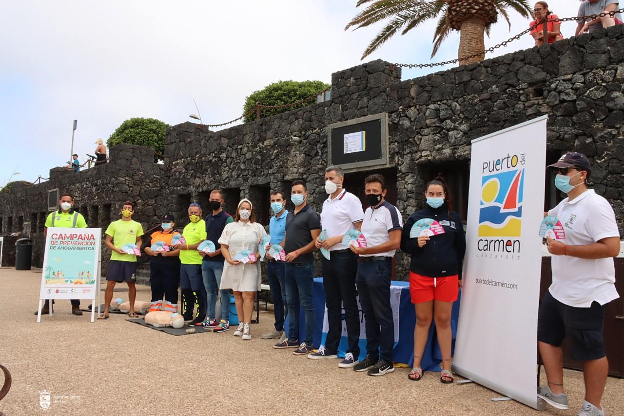 Campaña de Prevención de Ahogamientos. Cabildo de Lanzarote/ canariasnoticias