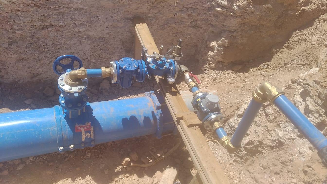 El CAAF renueva la distribución del agua en Antigua (Fuerteventura) / CanariasNoticias.es