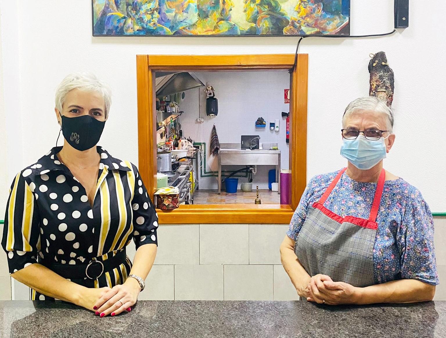 Fundación DinoSol visita los comedores sociales de Lanzarote / CanariasNoticias.es