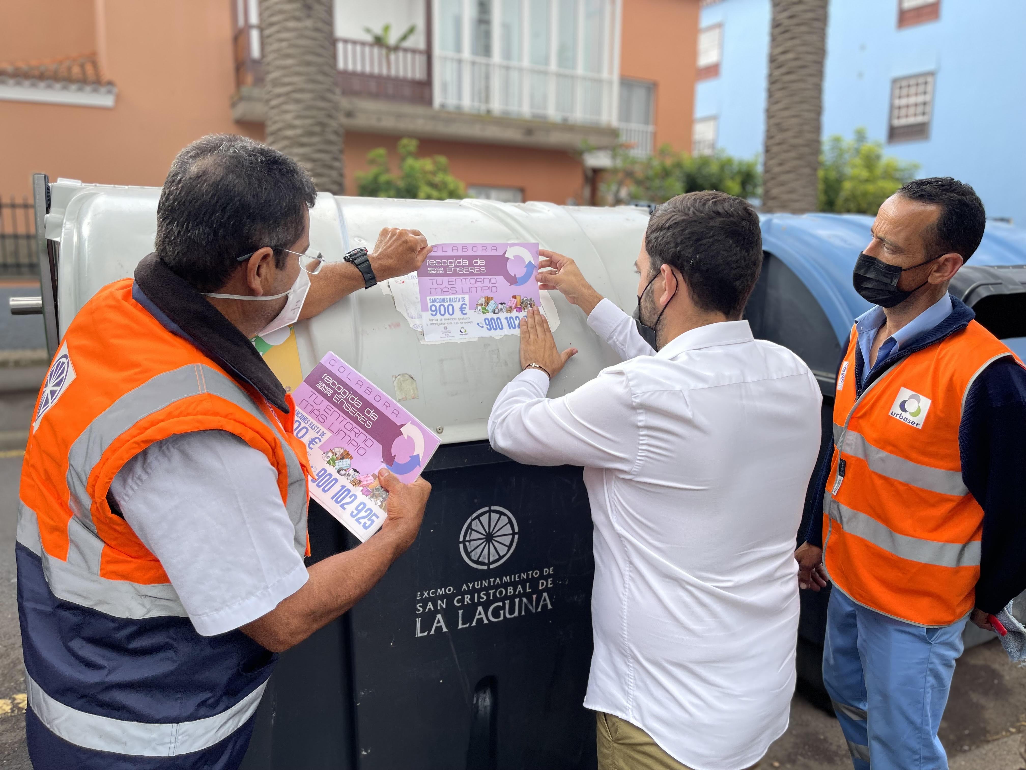 La Laguna insta a la ciudadanía a utilizar el servicio gratuito de recogida de muebles y enseres / CanariasNoticias.es