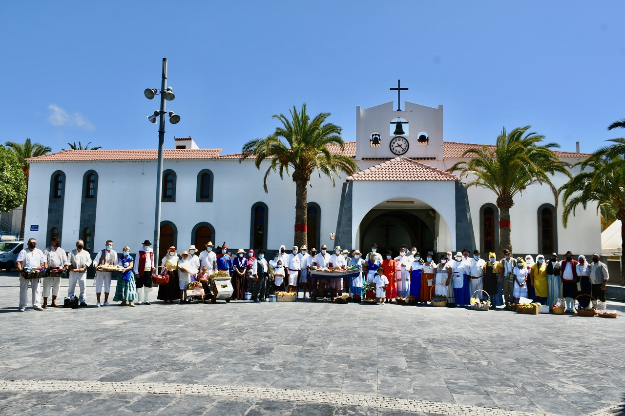 Romería-Ofrenda a la Virgen del Carmen en Arguineguín / CanariasNoticias.es