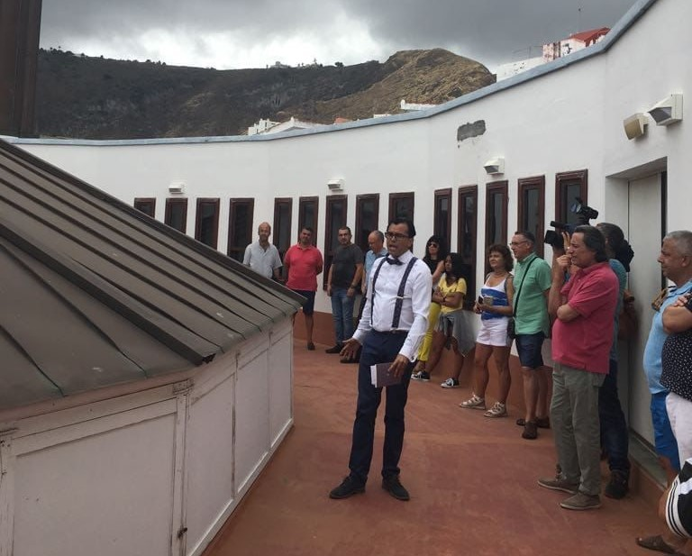 Visitas guiadas al Teatro Circo de Marte en Santa Cruz de La Palma / CanariasNoticias.es