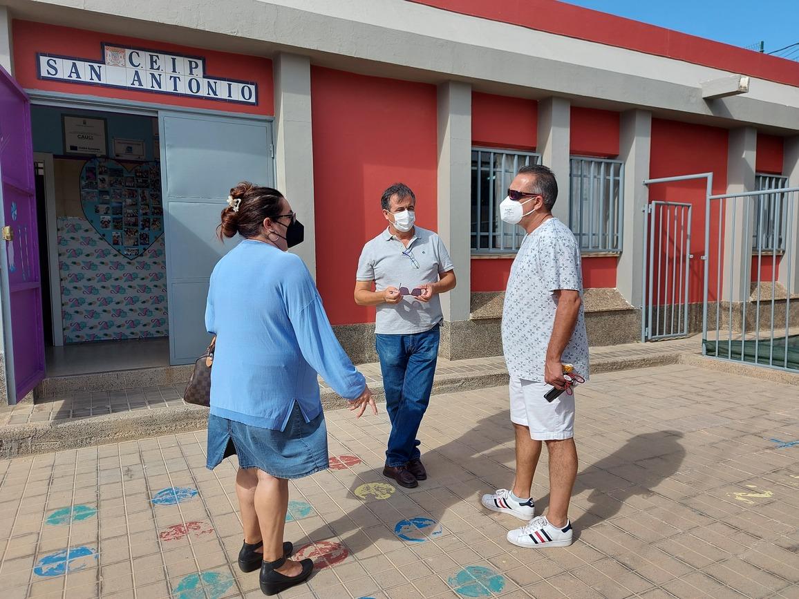 Escuela Unitaria de San Antonio en Telde (Gran Canaria) / CanariasNoticias.es