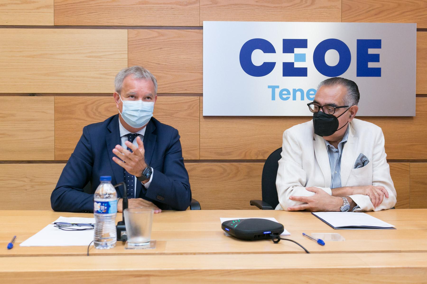 Reunión de Obras Públicas con CEOE / CanariasNoticias.es