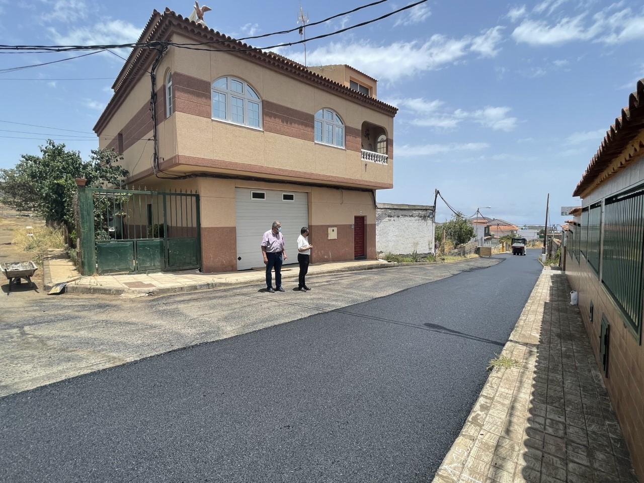 Valsequillo continúa con sus planes de asfaltado/ canariasnoticias