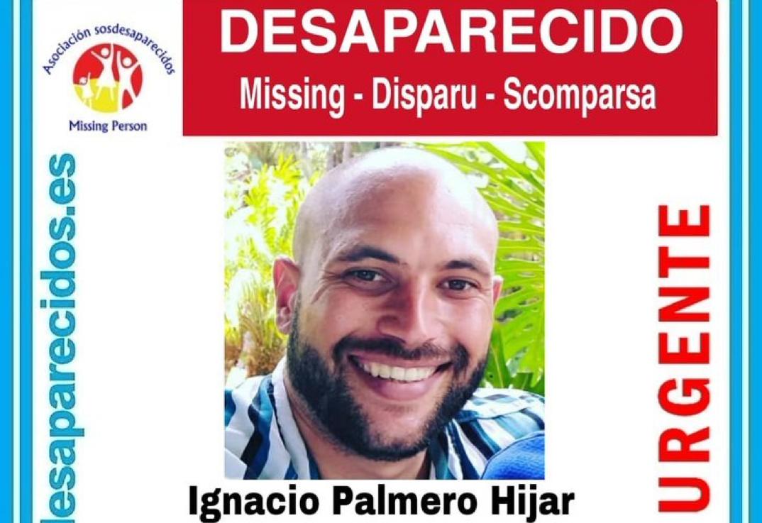 Desaparecido: Nacho Palmero Hijar