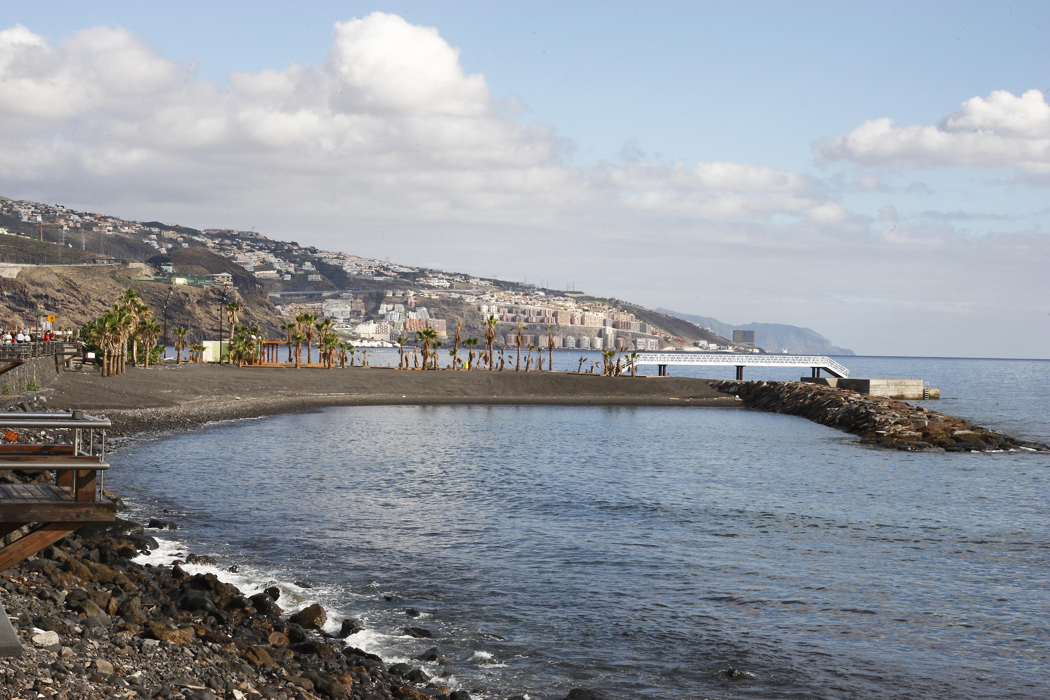 Playa de Punta Larga en Candelaria (Tenerife) / CanariasNoticias.es