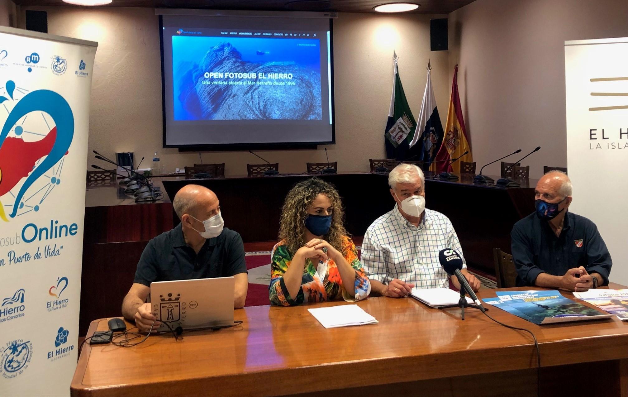 Presentación del Open Fotosub Isla de El Hierro / CanariasNoticias.es