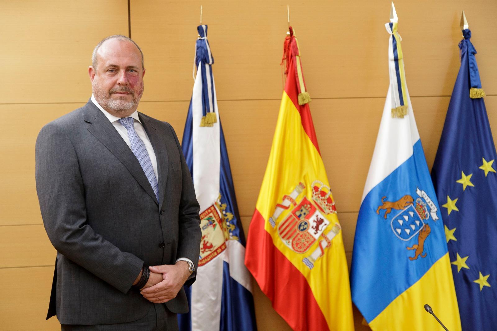 Enrique Arriaga, coordinador autonómico de Ciudadanos / CanariasNoticias.es