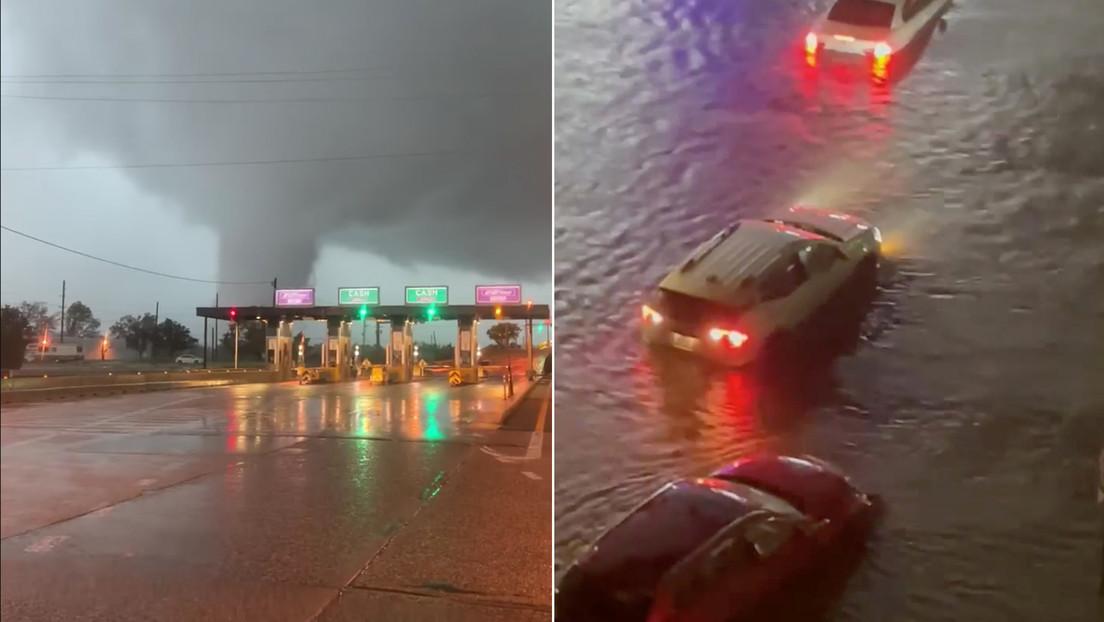 Huracán Ida en EEUU